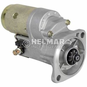 Hyster Forklift Starter Heavy Duty 1519632 hd Straight Drive no Gear Reduction