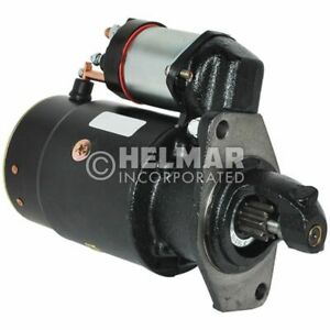 Hyster Forklift Starter 335864 new Straight Drive yes Gear Reduction No Volt 12