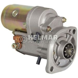Hyster Forklift Starter Heavy Duty 1374083 hd Straight Drive Gear Reduction V
