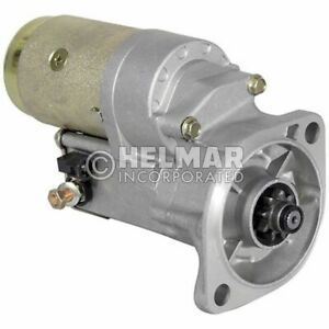 Hyster Forklift Starter 1519632 new Straight Drive no Gear Reduction Yes Volt 1