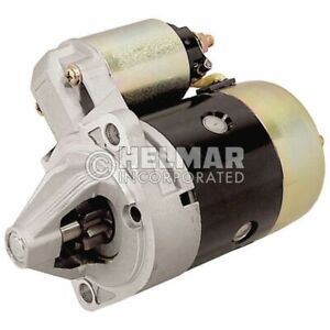 Hyster Forklift Starter Heavy Duty 2037412 hd Straight Drive yes Gear Reduction