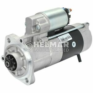 Hyster Forklift Starter 4042280 new Straight Drive no Gear Reduction Yes Volt 1