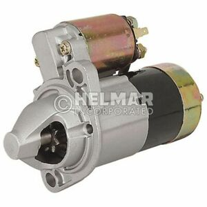 Hyster Forklift Starter 2314322 new Straight Drive no Gear Reduction Yes Volt 1