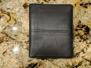 Brown Pebble Leather Unstructured Franklin Covey Planner 1 25 Binder Ring