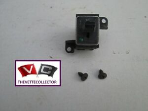 Corvette Oem 1977 Rear Window Defrost Switch 77 Only Defroster Defogger