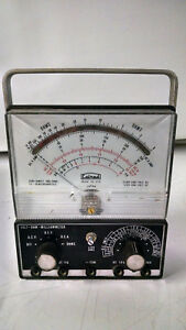Calnad 65 279 Milliammeter Volt ohm Untested As Is