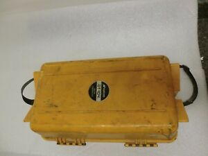 Topcon Dt 104 Electronic Engineering Surveying Digital Theodolite With Case