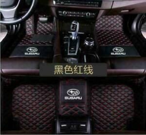 Fit For Subaru Outback 2010 2014 Car Floor Mats Front Rear Liner Auto Waterproof