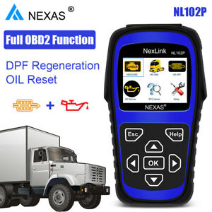Heavy Duty Truck Scan Tool Nl102 Plus Auto Scanner With Dpf Regen For Isuzu Hino