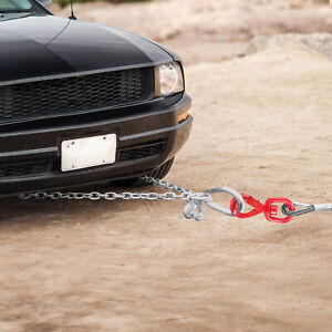 Wire Rope Winch Cable 3 8 X 75 Self Locking Swivel Hook Tow Truck Flatbed
