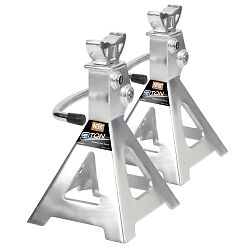 Nos Najs3t 3 Ton Aluminum Ratcheting Jack Stands Pair
