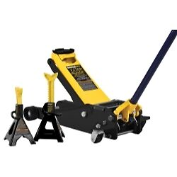 Omega 25055 2 5 Ton Magic Lift Service Jack With 3 Ton Stands
