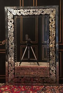 Antique Large Venetian Mirror