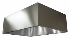 Dayton Commercial Kitchen Exhaust Hood 430 Stainless Steel Number Of Light