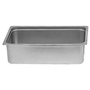 Dripless Water Pan For Under Chafer Banquet Buffet Catering For 8 Qt Chafers