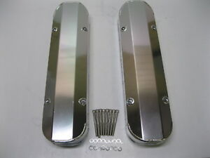 Pontiac Fabricated Aluminum Tall Valve Covers 1 4 Rail 389 350 400 455 Cover