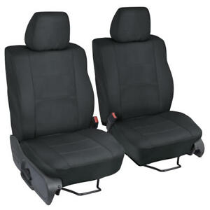 Custom Fit Seat Covers For Ford F 150 04 08 Front Driver And Passenger Seat