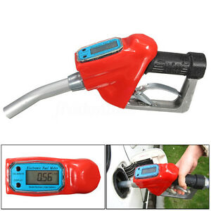Fuel Gasoline Diesel Petrol Oil Delivery Gun 1 Nozzle Dispenser