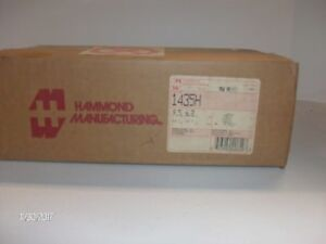 nib Hammond Manufacturing 1435h Pushbutton Enclosure Box nib