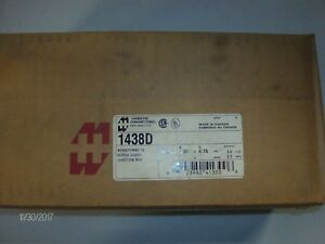 nib Hammond Manufacturing 1438d Electrical Enclosure nib