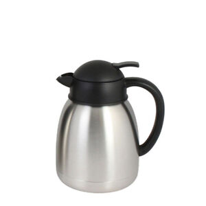 Coffee Server Push Button Stainless Steel Dispenser Insulated 40 Oz