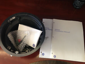 Ge Cyh 4101 Cyberdome Ii Housing Flush Mount Coax utp new