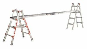 Little Giant Extension Plank 10 To 16 Ft Overall Length 12 Overall Width