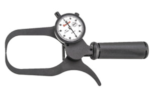 Starrett 1017 4 Outside Dial Caliper 0 2 Range 001 Graduation