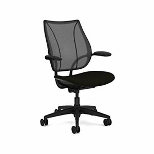 Liberty Chair By Humanscale Foam Seat Height adjustable Duron Arms Black bl