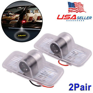 4pcs Led Shadow Logo Welcome Lamp Laser Projector Fit Accord Honda Crosstour New
