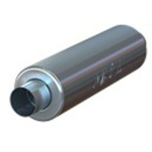 Mbrp Gp122106 3 Id Inlet Outlet 26 Single Chambered Muffler