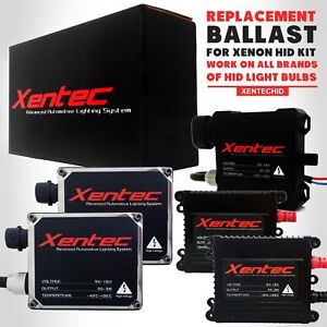 Two Xentec Xenon Hid Kit Replacement Ballast 35w 55w For Nissan 350z 370z Altima