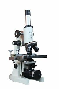 2500x Medical School Vet Lab Microscope W Led Lamp Hls Ehs
