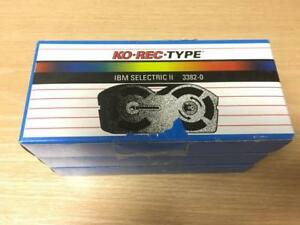 New Ko Rec Type 3382 0 Ibm Selectric Ii Typewriter Ribbon Lot Of 3 Nib