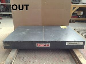 Starrett Superior Black Granite Surface Plate 36 X 24 X 4