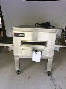 Used Pizza Oven Middleby Marshall Ps200 Electric Conveyor 3 Phase 32 Belt