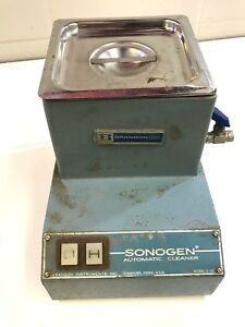 Branson Sonogen Automatic Cleaner Model D 50