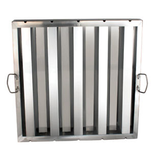 Hood Grease Filters Stainless Steel Restaurant Kitchen 20 h X 20 w