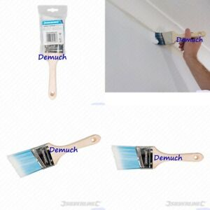 New Silverline 63mm 2 Angled Cutting In Paint Brush Edging Painting Decorating