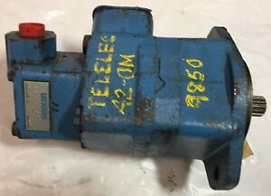 Eaton Vickers Hydraulic Vane Pump V2010 1f9s7s 11dc12 Splined Shaft 850070 w