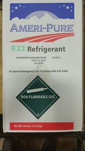 R22 Refrigerant 30lb New Freon Cylinder Sealed