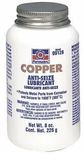 Permatex 09128 Copper Anti seize Lubricant 8 Oz