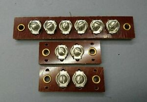 Willys Mb Wiring Block Set One 6 Post And Two 2 Post Junction Blocks