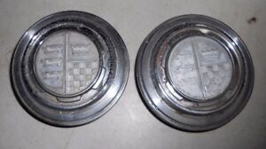 Set Of 1968 Ford Torino Formal Roof C Pillar Badges