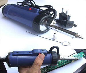 Desoldering Pump 220v 30w Automatic Electric Vacuum Soldering Continuous Suction
