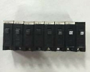 8 Bab1020 Challenger cutler Hammer 20 Amp 1 Pole Bolt On Circuit Breakers 1