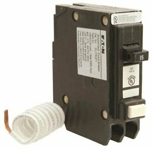 Eaton 66c1405g10 Cl Series Single Pole Classified Gfci Breaker Self test 120 2