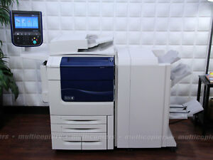 Xerox Color 570 Color Copier Printer Scan To Pc Fiery Printme Color 550 560