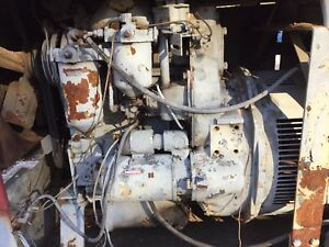 Detroit Diesel 2 53 Engine With Lincoln Sae 300 Welder Mounted On Trailer