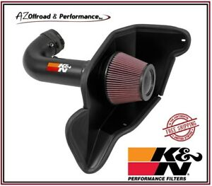 K N 69 Series Typhoon Air Intake System 16 17 Ford Mustang Shelby Gt350 5 2l V8